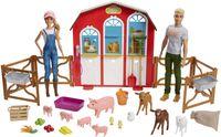 """Barbie """"Spaß auf dem Bauernhof"""" Spielset mit zwei Puppen"""