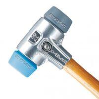 HALDER Simplex Schonhammer ALU-Gehäuse Kopf TPE blau / grau 3113 versch. Größen, Halder Durchmesser:60