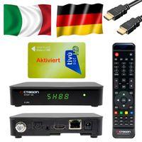 Tivùsat SX-88 HD-SAT-Receiver sx-88 (mit Tivusat Karte Gold) Full HDTV