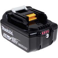 Akku für Makita Baustellenradio DMR107 3000mAh mit LED Original