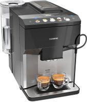 Siemens TP503D04 EQ.500 Classic Kaffeevollautomat, Farbe:Schwarz-Silber