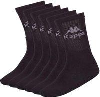 Kappa Socken Australien 6er Pack, Größe:43-46, Farbe:schwarz