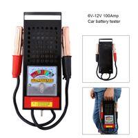 Auto PKW Batterietester Batterieprüfer Batterie Zustandstest Akku Testgerät Tester Analyzer Checker 6V-12V 100A
