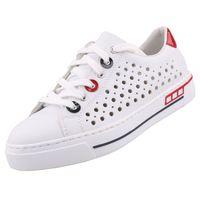 Rieker Damen Sneaker Weiß, Schuhgröße:EUR 38