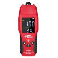 SMART SENSOR ST9700 Hand-Kohlenmonoxid-Messgeraet mit hochpraezisem Testmessgeraet ueberwachungsdetektor-Anzeige LCD-Farbanzeige Ton- und Lichtalarm 0-1000 ppm`