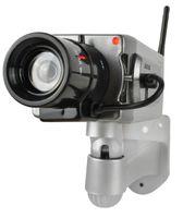 Kamera-Attrappe Sicherheitskamera mit Bewegungsmelder Überwachungskamera 5881