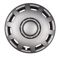 4x PREMIUM Radkappen Modell: Granit in Graphit-Grau, Größe:14 Zoll