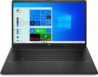 HP Notebook 17 Zoll HD+ Intel Dual Core 2x 2,8GHz 8GB 256GB SSD Windows 10