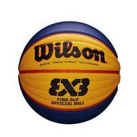 Wilson basketball FIBA 3X3 Gummi gelb/blau Größe 6