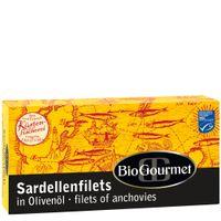 BioGourmet Sardellenfilets in Bio-Olivenöl 50g