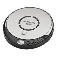 CLATRONIC CDP 7001 Tragbarer MP3 CD-Player Anti-Shock inkl. In-Ear Kopfhörer
