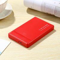 USB 3.0 Portable Externe Festplatte Ultra Slim Für Windows, Mac, Linux 1T  rot 123x79x14mm 1 TB