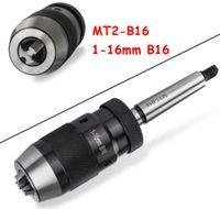 1-16 mm Bohrfutter Schnellspannbohrfutter Bohrhammer mit Kegeldorn MK2
