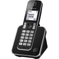 PANASONIC KX-TGD310FR - Digitales Schnurlostelefon Schwarz