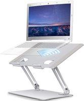 Laptop ständer Aluminium Mobiler Notebook ständer-Tragbar Höhenverstellbarer Schreibtisch ständer