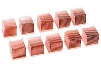 Alphacool GPU RAM Copper Heatsinks 14x14mm - 10 Stk.