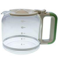 Ariete AT4066009020 Glaskanne für 1342 Vintage, Retro green, grün Kaffeemaschine