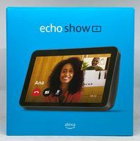Amazon Echo Show 8 2. Generation (2021) HD-Smart Display mit Alexa und 13-MP-Kamera - Anthrazit