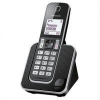 Panasonic KX-TGD310SPB - Telu00e9fono fijo digital ,bloqueo de llamadas, hast #5225 - Plug-Type C (EU)