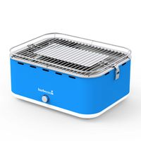 Barbecook Carlo Holzkohle-Tischgrill Sky Blue