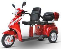 ECO ENGEL 503 Rot, 25 km/h Li-io 30 AH Doppelsitzer Seniorenmobil Elektromobil