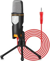 USB Kondensator-Mikrofon, Gaming-Mikrofon, Standmikrofon für Gesangs- und Sprachaufnahmen, PC & Studio