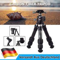 MENGS Kamerastativ Kohlefaser Stativ mit BH-36 Panorama Kugelkopf Für Kamera