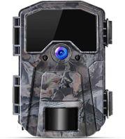 Wildkamera 20MP 1080P Infrarot-Nachtsicht Jagdkamera mit 940nm LEDs, Zeitraffer, Zeitschaltuhr