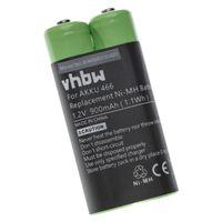 vhbw Akku kompatibel mit Grundig Digta 420, 422 Diktiergerät (900mAh, 1.2V, NiMH)