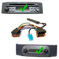 Bluetooth AUX Adapter und Radio Ausbau Werkzeug für SMART Fortwo 450 Grundig Radios MP3 Musik Stream