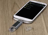 "hama USB 2.0 OTG Speicherstick FlashPen ""Laeta Twin"" 64 GB"