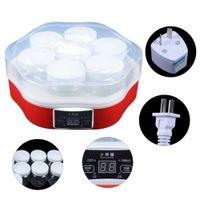 1.7L Automatisch Joghurtbereiter Joghurtmaschine Joghurt-Maker Joghurtherstellung DIY Joghurt 220V