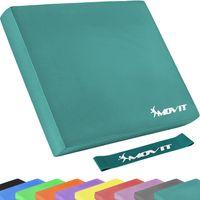 MOVIT® Balance Pad Sitzkissen petrol mit Gymnastikband