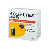 ROCHE Accu Chek FastClix Lanzetten (0,3mm) 204 Stück 204 Stück1 Pack