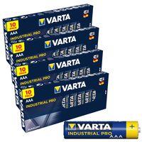 Batterien VARTA 4003 Micro AAA / LR3 Alkaline, Industrial PRO, 1,5V, 40er Pack