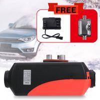 5KW Diesel Air Diesel-Heizung Lufterhitzer Planar 5000W 12V LCD Free Silencer für Wohnmobile Trucks BooteSilencer Trailer -40°C+50°C