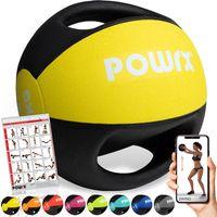 Medizinball Bunt versch. Gewichte mit 2 Handgriffen Studioqualität Gewicht: 3 kg