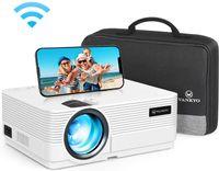 VANKYO Beamer 4500 Lux, Wireless Bildschirmsynchronisieren, Support 1080P Full HD, Leisure 470