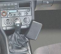 Haweko Telefonkonsole Für Audi 100 / A6, Bj. 91-97 Leder, Schwarz