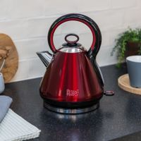 Russell Hobbs 21885-70 Legacy Red Waterkoker 1.7L 2400W Rood/RVS.