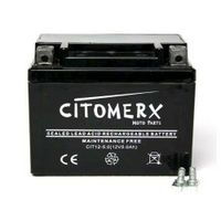 Batterie, Rollerbatterie wartungsfrei 12V 5AH YB4L-B, YTX4L-BS, YT4L-B für 50ccm Roller