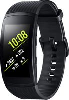 Samsung Gear Fit2 Pro Größe L, schwarz, SM-R365, SAMOLED 3,81 cm (1.5 Zoll), Touchscreen, GPS, 34g