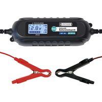 LODCHAMP 6/12V-4A Batterieladegerät mit Batterietester Erhaltungsladegerät 6V/12V KFZ Motorrad Auto