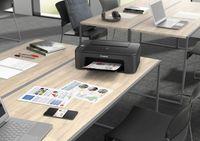 Canon PIXMA TS3350 Tintenstrahldrucker, WLAN, USB, AirPrint Cloud Print, CD/DVD-Druck, Schwarz