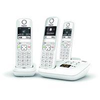 GIGASET Festnetztelefon AS690 Ein Trio Weiß