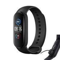 Xiaomi Mi Band 5 Fitness Tracker Smart Armband Schwarz Global Version