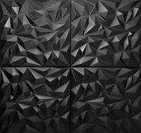8qm//32 Stück 3D Wandpaneele Deckenpaneele Deckenplatten Platten AMETHYST 50x50