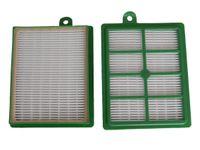 vhbw 2x Ersatz Allergie Hepa 13 Filter Set Philips Performer FC 9150, FC 9151, FC 9152, FC 9153, FC 9154, FC 9155, FC 9156, FC 9157 Ersatz für AEF 12, H12