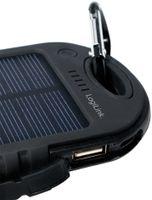 LogiLink Universal Solar Ladegerät 5.000 mAh schwarz