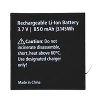 Rollei Single Battery 5S/6S Plus, Farbe:Schwarz